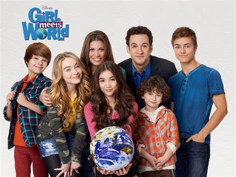 cast of girl meets world takes over times square good interview with girl meets world s danielle fishel