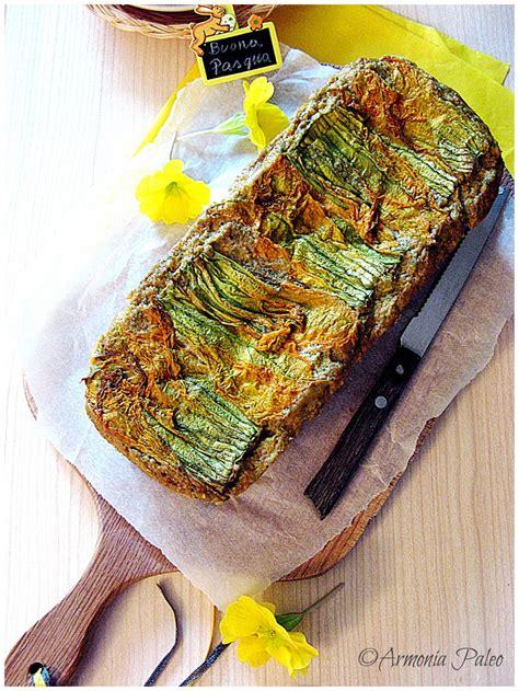 ricette di fiori di zucchine cake salato ai fiori di zucchine