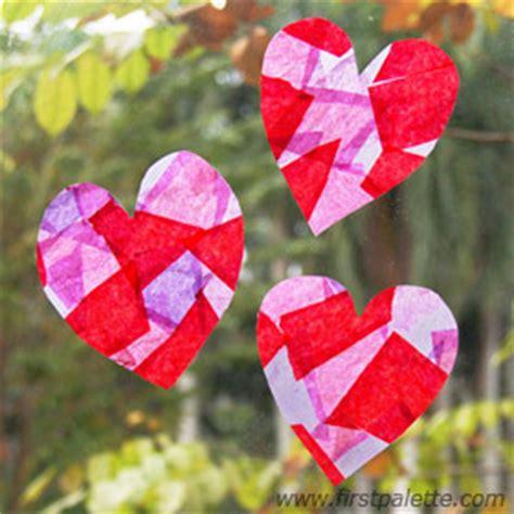 tissue paper suncatchers craft | kids' crafts