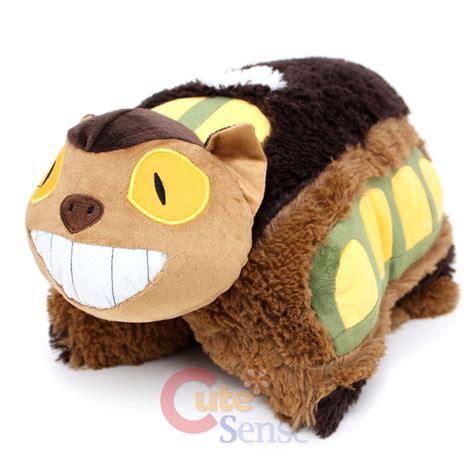 Pillow Pet Cat by Totoro Cat Pillow Pet Plush Cushion Transforming