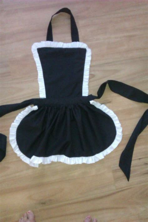 pattern for french maid apron french maid frilly apron full apron bachelorette fancy