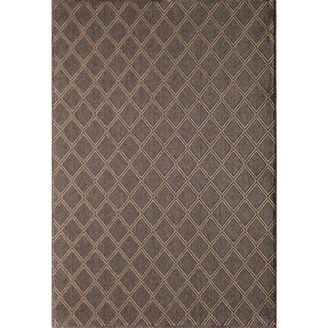 Hton Bay Outdoor Rugs Hton Bay Gray 5 Ft 3 In X 7 Ft Indoor Outdoor Area Rug 1701pu57hd 106p The Home