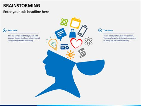 Brainstorming Powerpoint Template Sketchbubble Brainstorming Template Powerpoint
