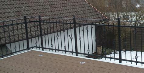 balkongeländer verzinkt schlosserei hoppe balkongel 228 nder verzinkt