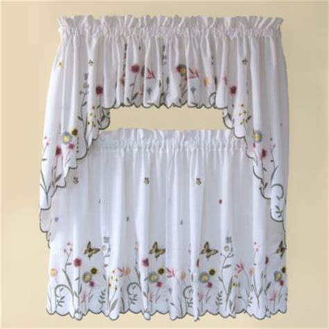 butterfly valance curtains buy butterfly kitchen curtains from bed bath beyond