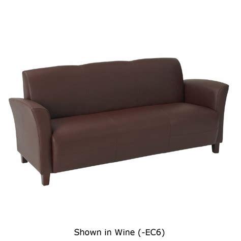 black cherry leather sofa black wine mocha eco leather sofa with cherry finish legs