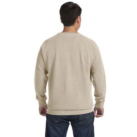 comfort colors sandstone comfort colors s sandstone 9 5 oz crewneck sweatshirt
