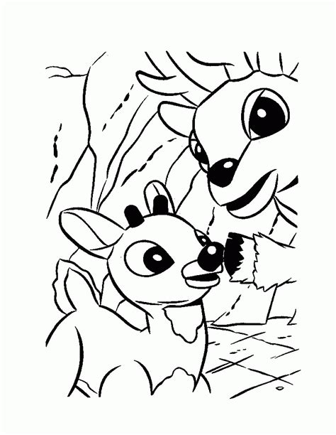 reindeer head coloring pages coloring home
