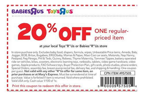 20 off babies r us printable coupons