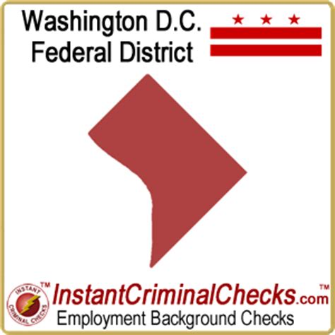 Criminal Background Check Washington District Of Columbia Criminal Background Checks Courts