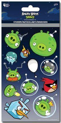 Stiker Ac Angry Bird angry birds space standard stickers 4pk by trends