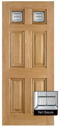 Interior Doors Glasgow by 6 Panel With Top Lights External Door