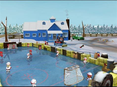 backyard hockey pc backyard hockey 2005 дата выхода системные требования