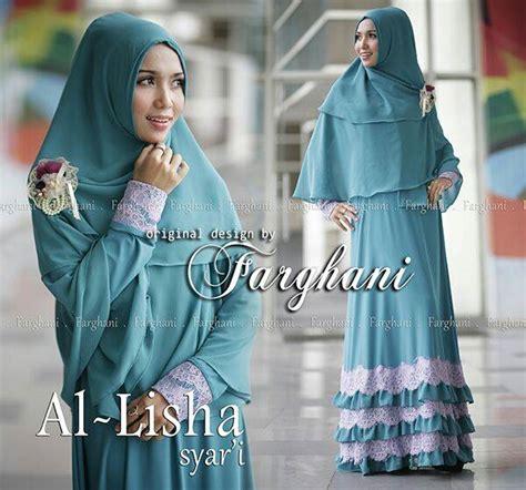 Jilbab Nadiva Size S al lisha by farghani tosca baju muslim gamis modern
