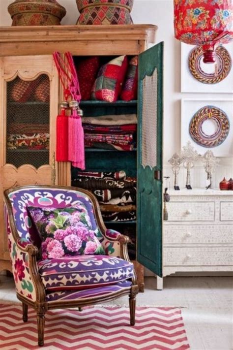 eclectic boho decor home decorating ideas bohemian style decor interior pinterest