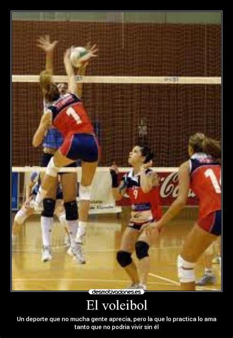 imagenes motivadoras de voley el voleibol desmotivaciones