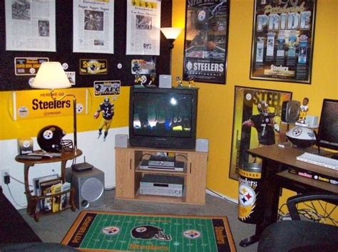 Pittsburgh Steelers Bedroom Decor by 55 Best Images About Steelers Room Decor On