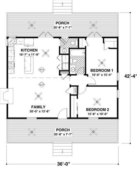 56 sq ft cottage 2 beds 1 5 baths 954 sq ft plan 56 547 main floor