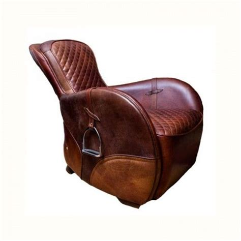 saddle armchair saddles furniture chairs and furniture on pinterest