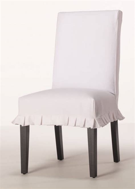 Slipcovered Dining Chair by Dining Chair Slipcovers Casual Cottage