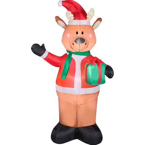 airblown inflatables gemmy airblown inflatables santa