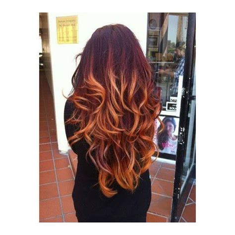 ombre with red and blonde 20 hot color hair trends latest hair color ideas 2018