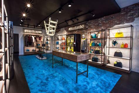 home design stores soho fendi pop up store in soho
