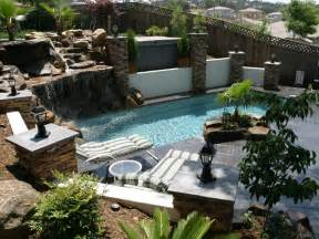 Pictures Of Backyards With Pools Landscape Design Ideas Backyard Pool Landscape Ideas Enjoy The Of Nature
