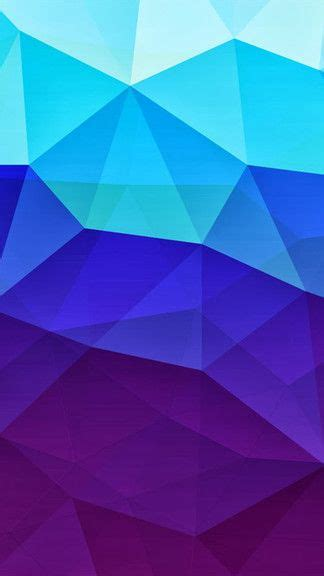 blue polygon wallpaper gallery