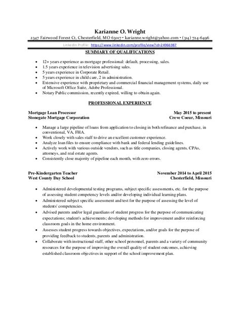 karianne wright resume 2015