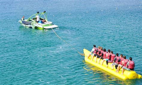 banana boat ride safe banana boat rides in turkey getmyboat