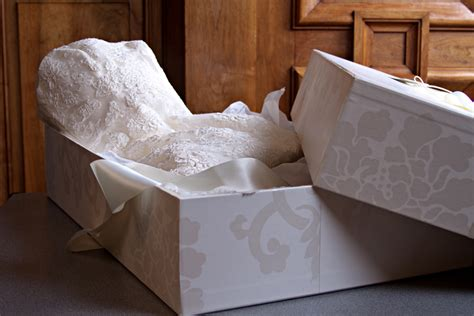 Wedding Dress Storage Box by Wedding Dress Preservation Wedding Dress Cleaners