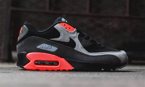 Nike Airmax9 0 Premium nike air max 90 premium quot black medium ash total crimson
