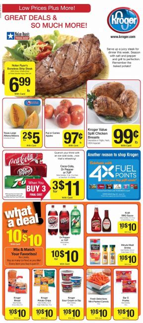 kroger weekly deals and coupon matchups feb 5th 11th kroger weekly deals and coupon matchups 5 29 13 mylitter