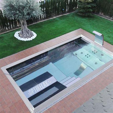 yakuzi pool garten spawhirlpool becken steelrelax el2 optirelax 174