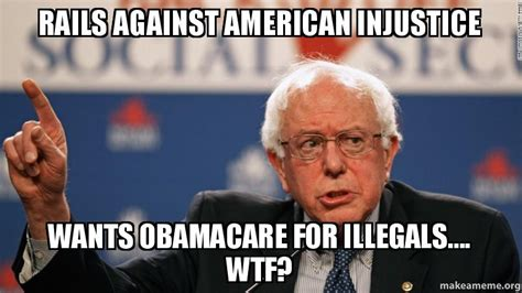 Anti Obamacare Meme - rails against american injustice wants obamacare for