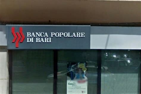 banco di bari la riforma in sospeso ma la banca popolare di bari