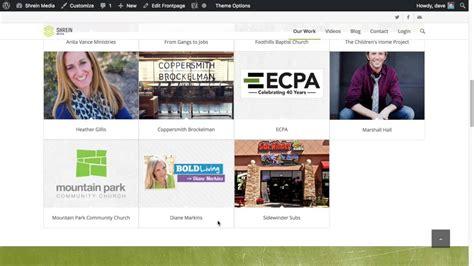 enfold theme portfolio tutorial enfold theme for wordpress portfolio grid element youtube