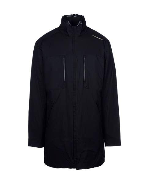 porsche design down jacket porsche design down jacket in black for men lyst