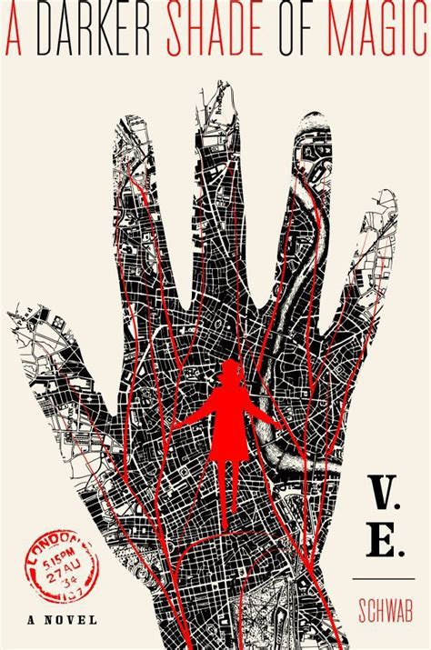 veins of magic otherworld books how the cover was decided for v e schwab s new book a