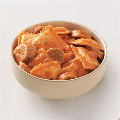 easy sausage ravioli recipe taste of home