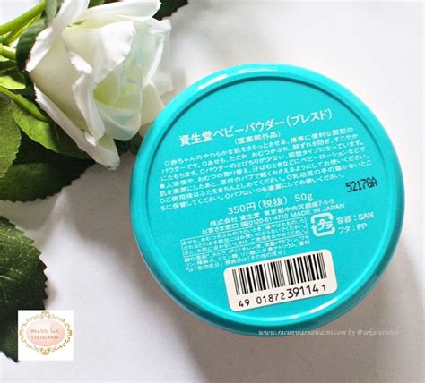 Bedak Shiseido racun warna warni review shiseido medicated baby powder