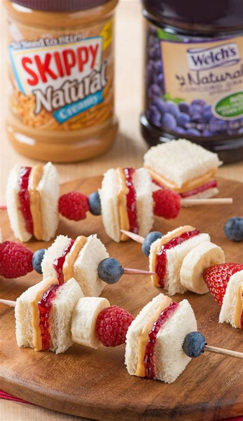 pb j fruit snacks after school snacks peanut butter and butter on