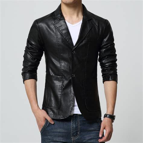Blazer Jaket Popular Leather Blazer Buy Cheap Leather Blazer