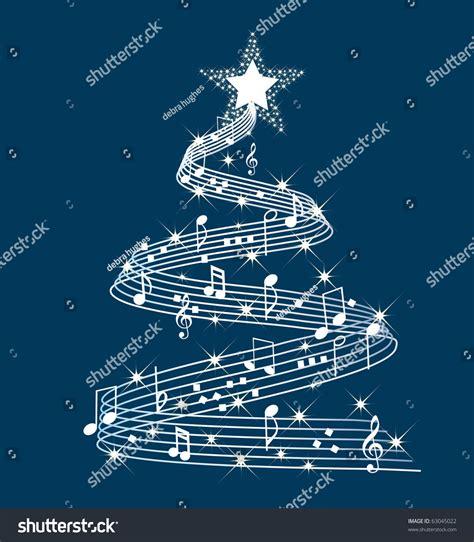 musical tree musical tree stock vector 63045022