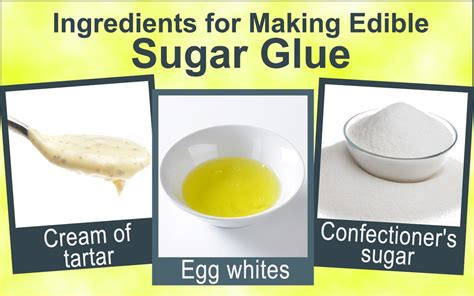 now making edible sugar glue is really easy we tell you