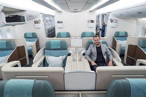 korean air business class seat review flight review korean air a330 and a380 class