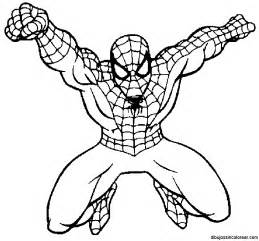 oliver spiderman colouring pages