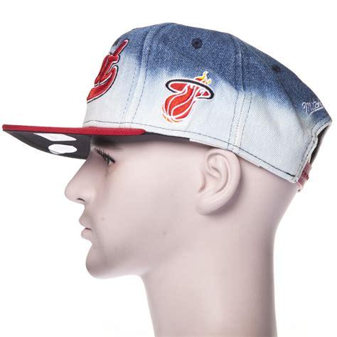 imagenes de gorras miami heat gorra mitchell ness eu165 miami heat bl rd comprar