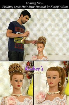 swiss bun hair style tutorial by kashif aslam video dailymotion 1000 images about bridal updo s on pinterest hair